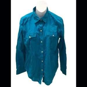 LRL Lauren Jeans Co. Long Sleeve Button Down Shirt